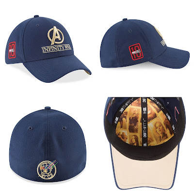 Disney Store Exclusive Marvel's Avengers Infinity War Limited Edition Cast & Crew 39THIRTY Fitted Hat by New Era Cap