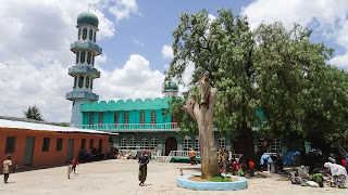 In the Merkato Area is the mosque