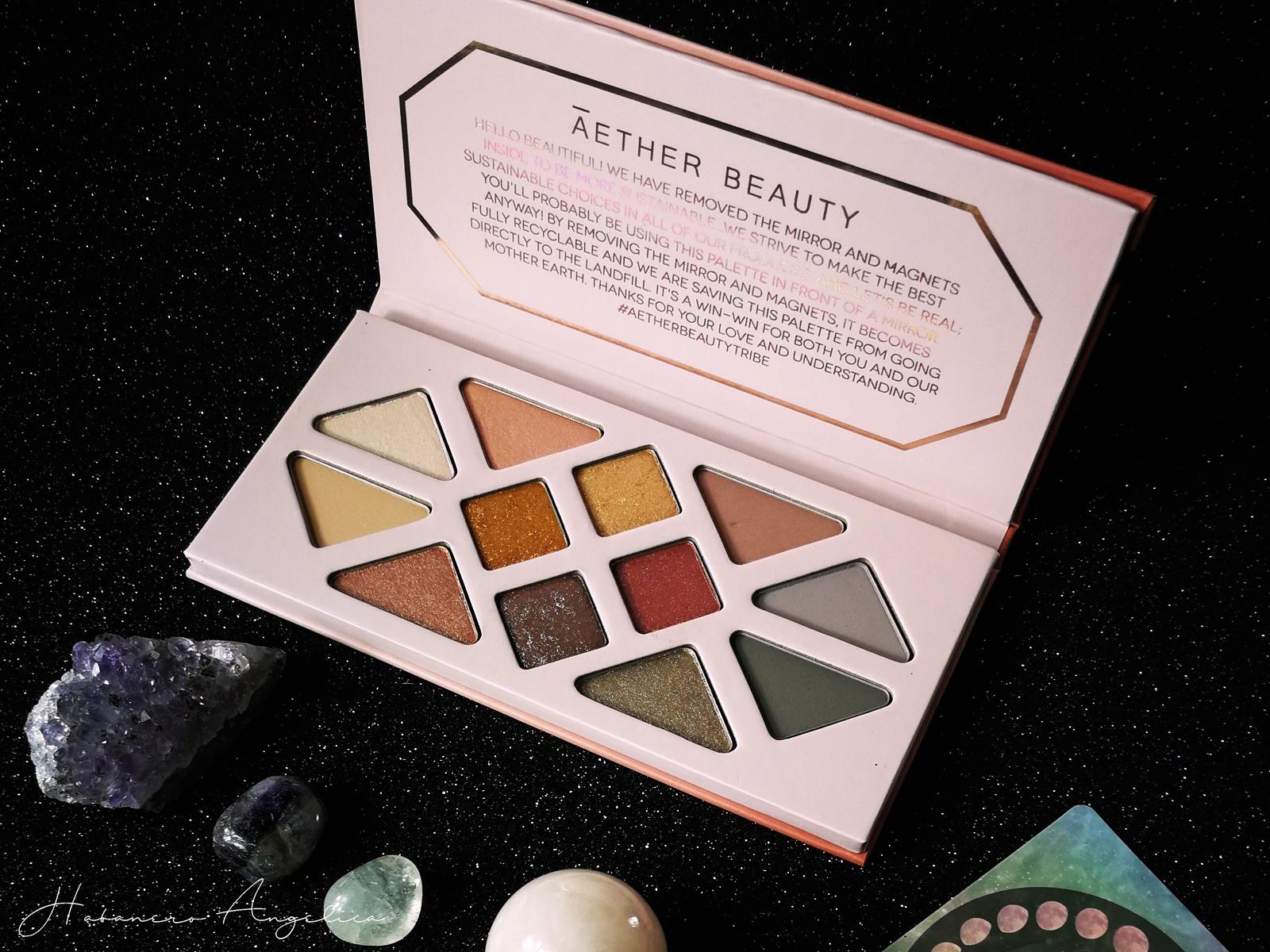 ecobio luxury palette ombretti
