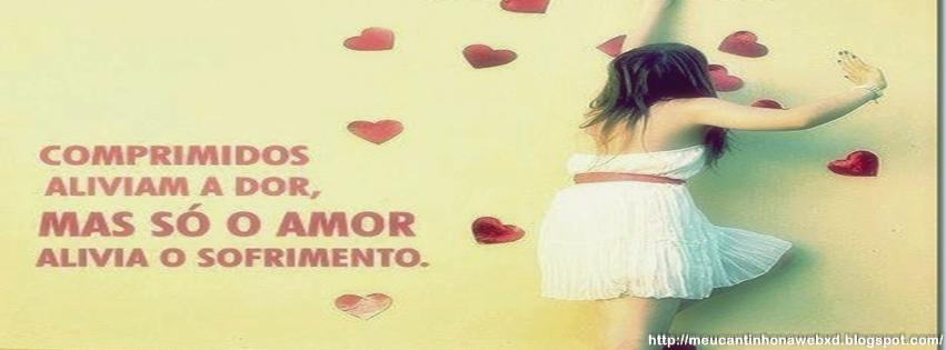 Capa Para Facebook Feminino Com Frases De Amor Social Media La