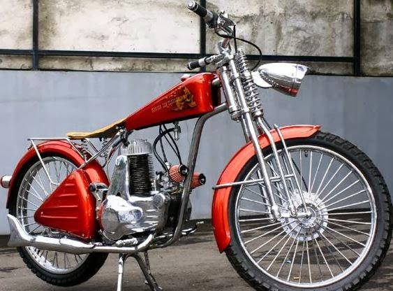 modifikasi motor jadul