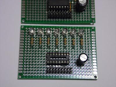 Fig. 8 - Ecco i PIN montati sul modulo - Foto di Paolo Luongo
