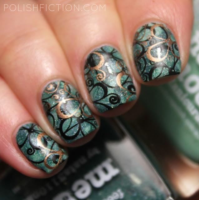 smoosh manicure