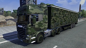 Army Scania Streamline