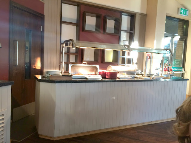 Marriott Gateshead breakfast counter