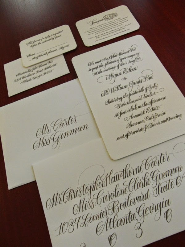 Anne Elser Calligraphy Pricing