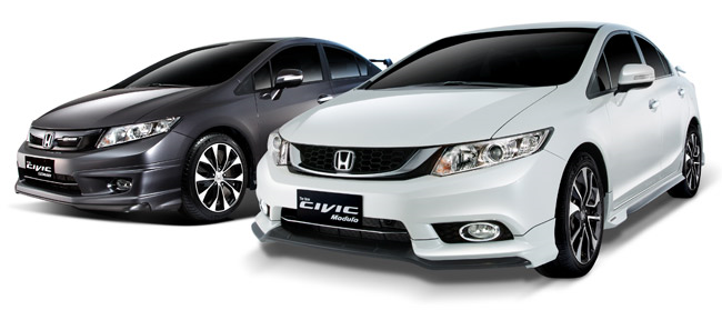 Honda Civic 2.0 EL MUGEN and Civic 1.8 E Modulo