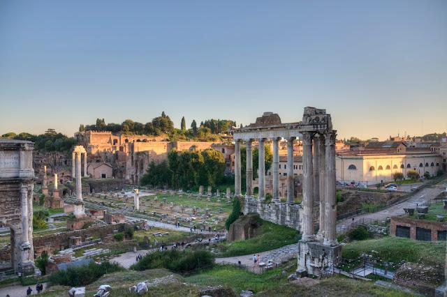 plan zwiedzania Rzymu, centrum miasta