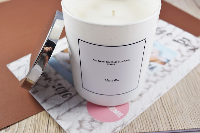 The Bath Candle Company Vanilla Candle