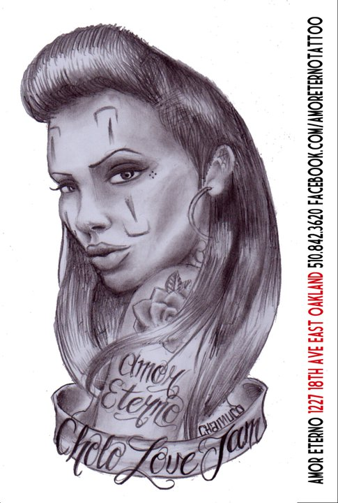Project Elefont: CHOLO LOVE JAM - AMOR ETERNO TATTOO SHOP ...