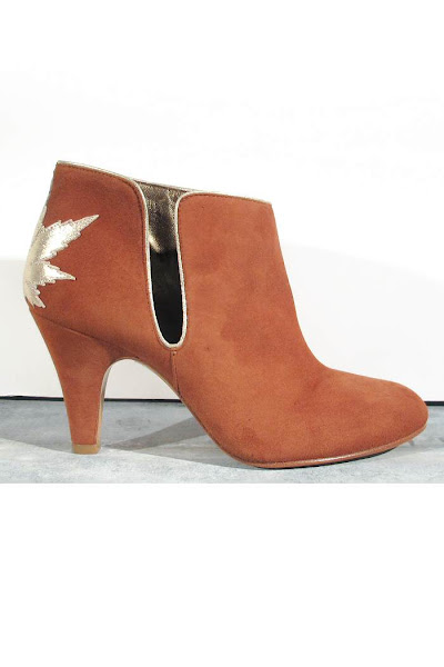 Soldes Patricia Blanchet boots Kaktus caramel
