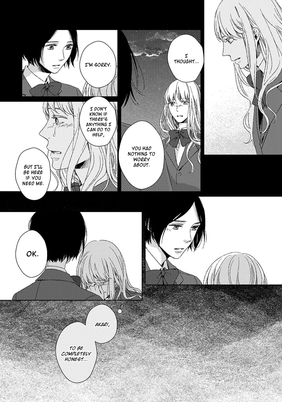 Itomeguri no Sobyou - Chapter 3