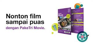 Harga Paket Internet Movie 3 Tri 4G LTE 2016