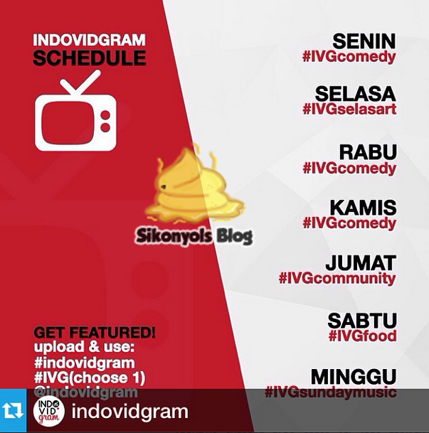 Jadwal Tema Video Indovidgram