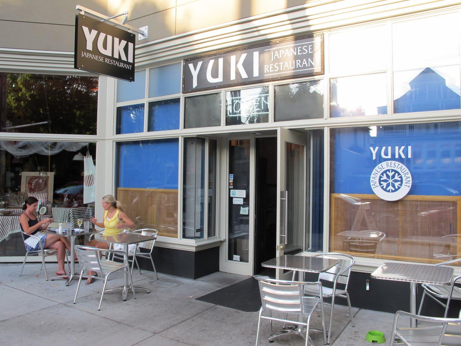 Yuki Anese Restaurant Of Portland Oregon