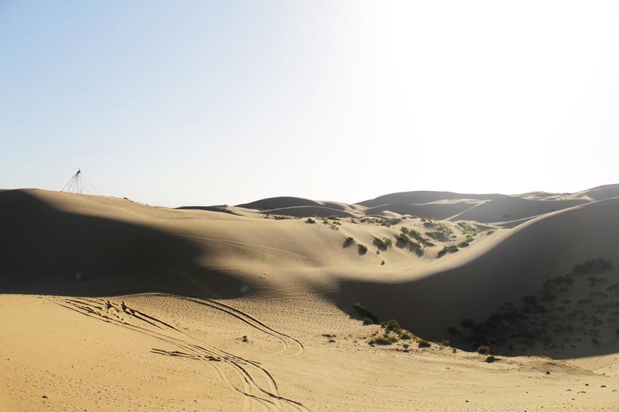 desert qinghai china