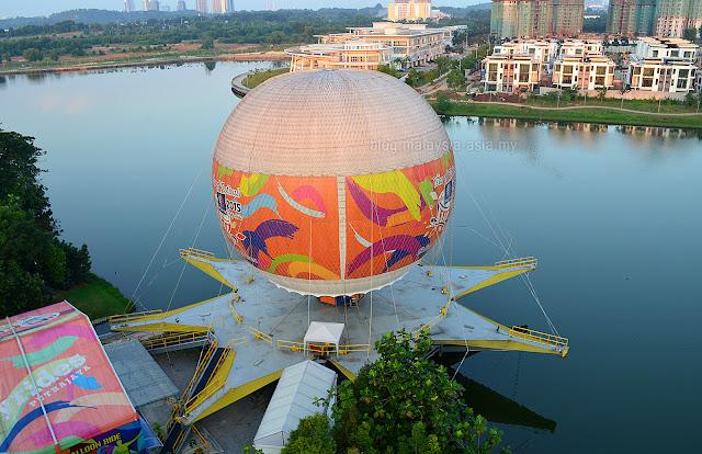 Aerial View Putrajaya