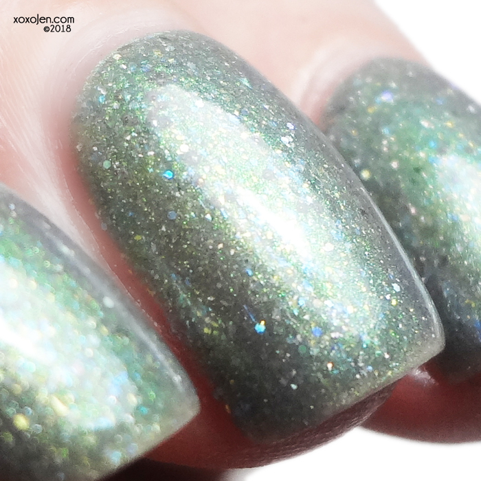 xoxoJen's swatch of Girly Bits Act Your Sage