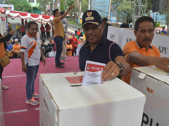 Forkompimda Kota Jayapura Adakan Rakor Jelang Pemilu 2019