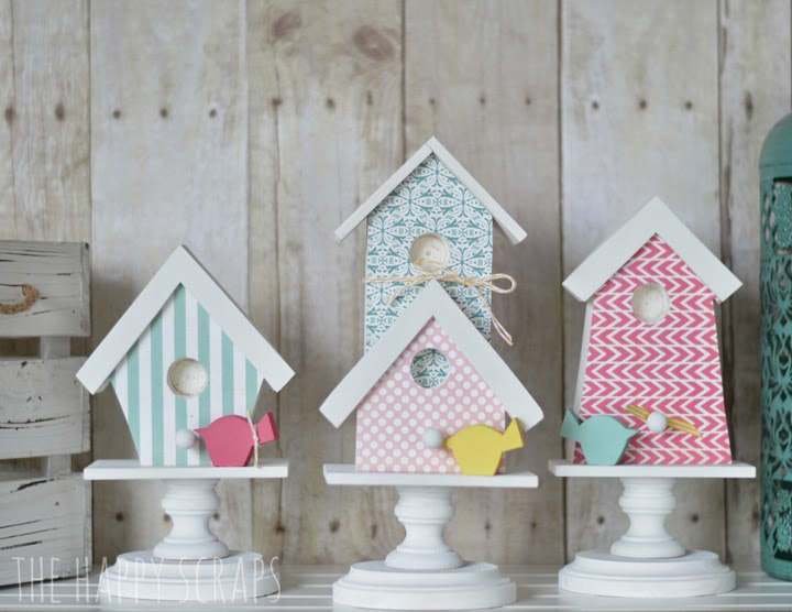 6+bird house set Fun Home Decor Projects 48