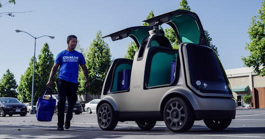Largest supermarket chain in the US to test autonomous delivery vehicles