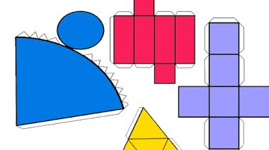 Figuras geométricas recortables para imprimir