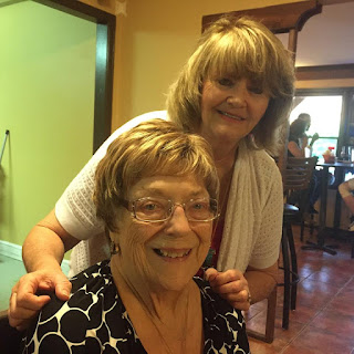 Betty Morton and daughter-in-law Donna