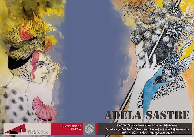 Exposición de Adela Sastre.