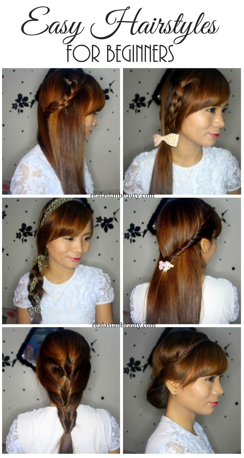 easy hairstyles for beginners - beauty and fashion