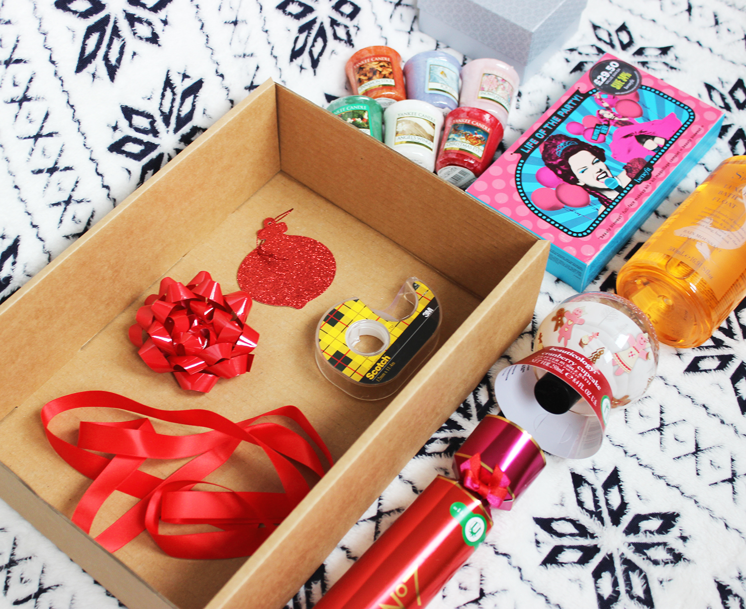 How to make a diy beauty hamper with a little help from Boots