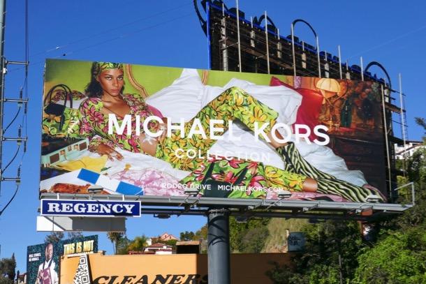 Michael Kors Collection Spring 2019 billboard