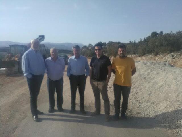 Αυτοψία Περιφερειάρχη Πελοποννήσου στο δρόμο Πελετά – Κρεμαστή