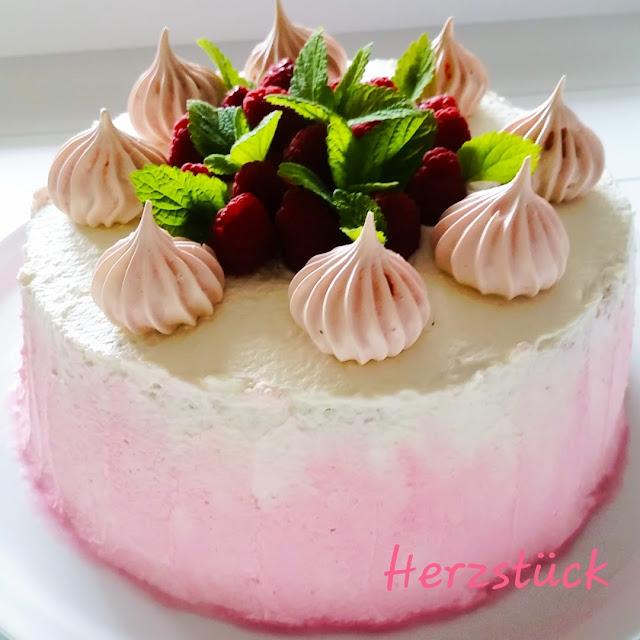 Himbeer-Qurk Torte