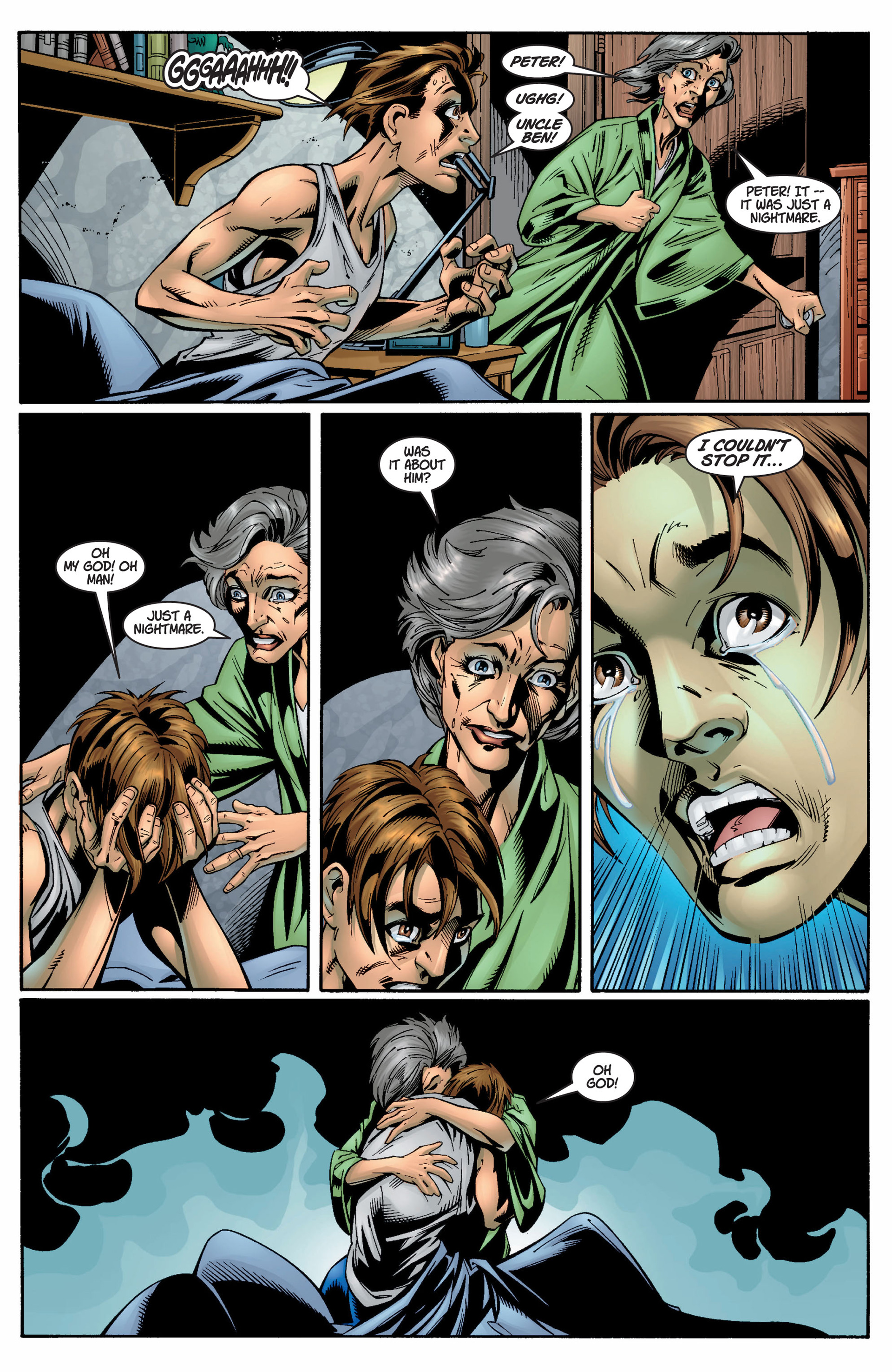 Read online Ultimate Spider-Man (2000) comic -  Issue #8 - 18