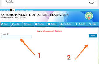 How to enter our(teachers) leave account particulars in cse website@cse.sp.gov.in