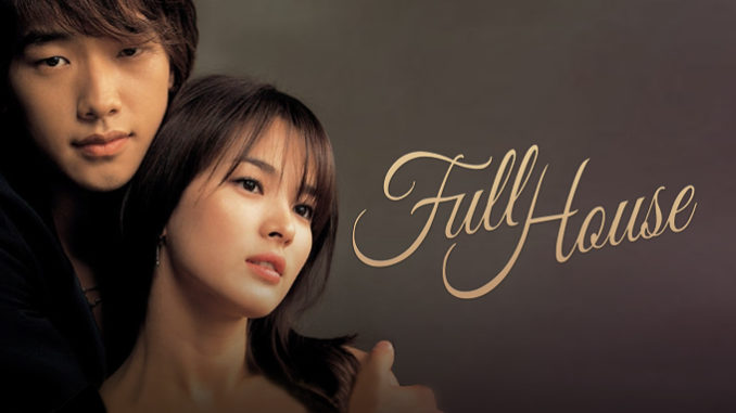 Drama ini bercerita tentang pernikahan kontrak antara wanita biasa bernama Han Ji-Eun (Song Hye Kyo) dan aktor bernama Lee Young-Jae (Rain). Han Ji-Eun, seorang penulis naskah, tinggal di rumah bernama Full House yang dibangun oleh ayahnya. Pada suatu hari, Ji-Eun ditipu oleh dua orang temannya. Ia dibohongi telah memenangi liburan serba gratis ke Shanghai. Di dalam pesawat, Ji-Eun duduk berdampingan dengan Young-Jae, seorang aktor terkenal dan tampan. Keduanya menjadi saling mengenal setelah Ji-Eun muntah di kemeja Young-Jae. Di Shanghai, Ji-Eun kehabisan uang dan harus meminjam uang kepada Young-Jae. Kedua teman yang menipunya mengatakan semua pengeluaran, termasuk biaya makan sudah ditanggung. Setiba kembali di Korea, Ji-Eun sadar dirinya telah ditipu, dan rumah tempat tinggalnya sudah dibeli oleh Young-Jae. Keduanya setuju untuk tinggal di satu rumah, asalkan Ji-Eun bekerja sebagai pembantu rumah tangga agar bisa mendapatkan kembali rumahnya. Dari sinilah kisah percintaan drama komedi ini dimulai.