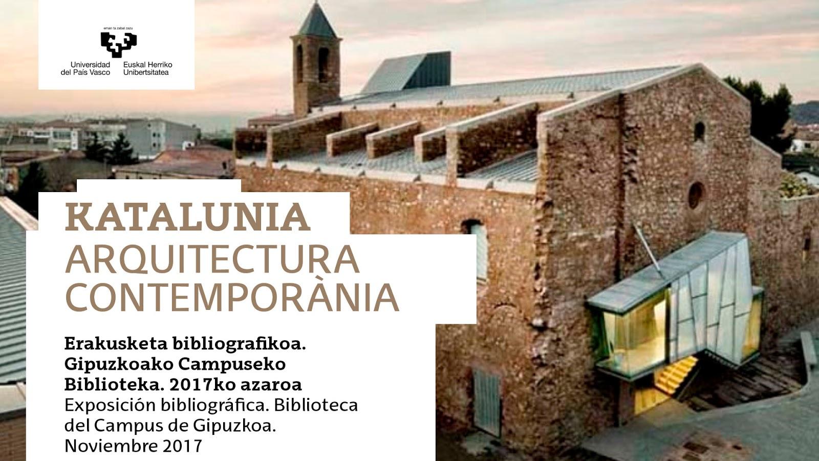 Upv ehu biblioteka for Escuela arquitectura donostia