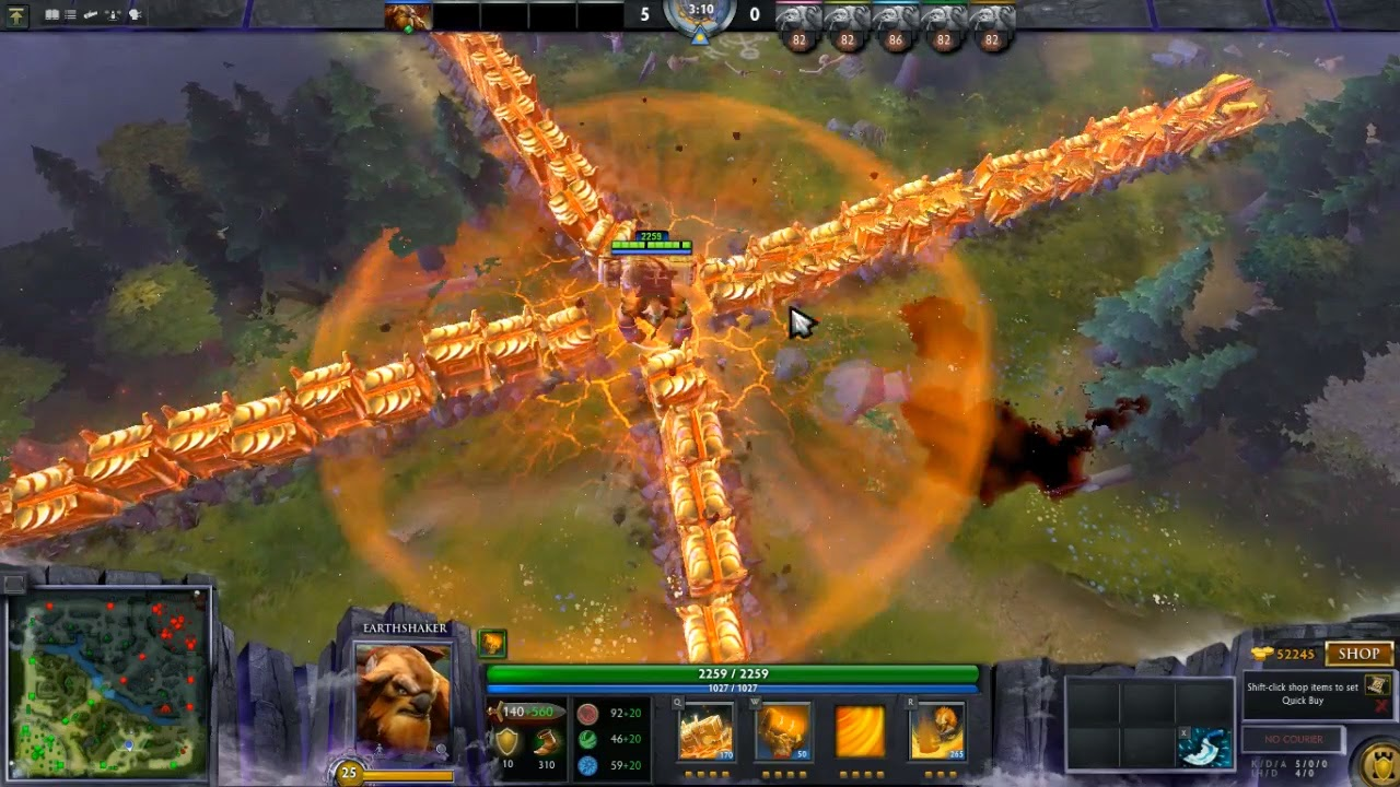 Dota 2 Mod Gravelmaw Deep Magma Immortal Items