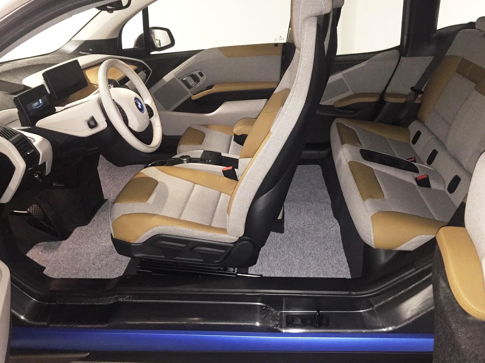 Bmw I3 16 Diy Stain Resistant Custom Floor Mats