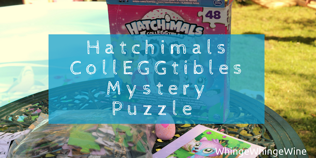 Hatchimals CollEGGtibles 48-piece Mystery Puzzle collectable jigsaw
