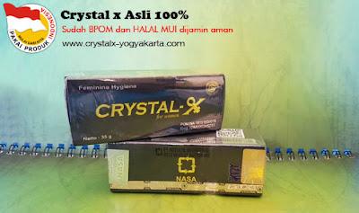 Crystal x Untuk Organ Kewanitaan Anda