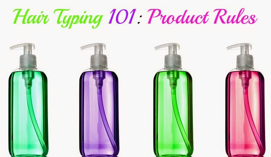 Hair Typing 101: Product Rules