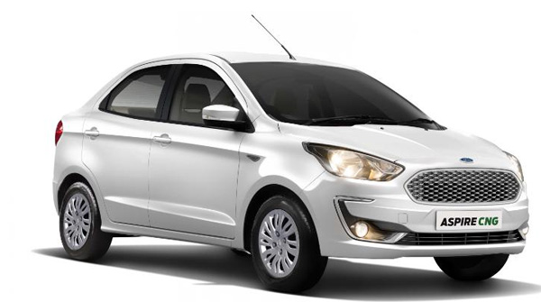 News, Business, Vehicles, Launch,Ford Aspire CNG introduced in India, price starts at Rs 6.27 lakh