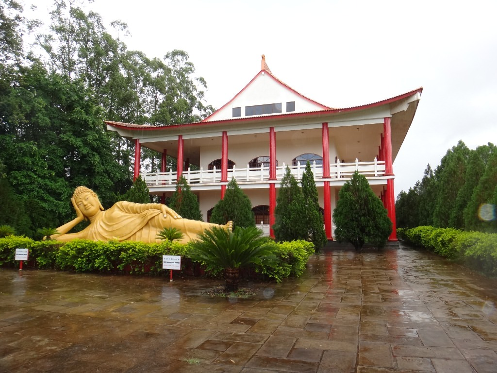 Templo Budista em Foz
