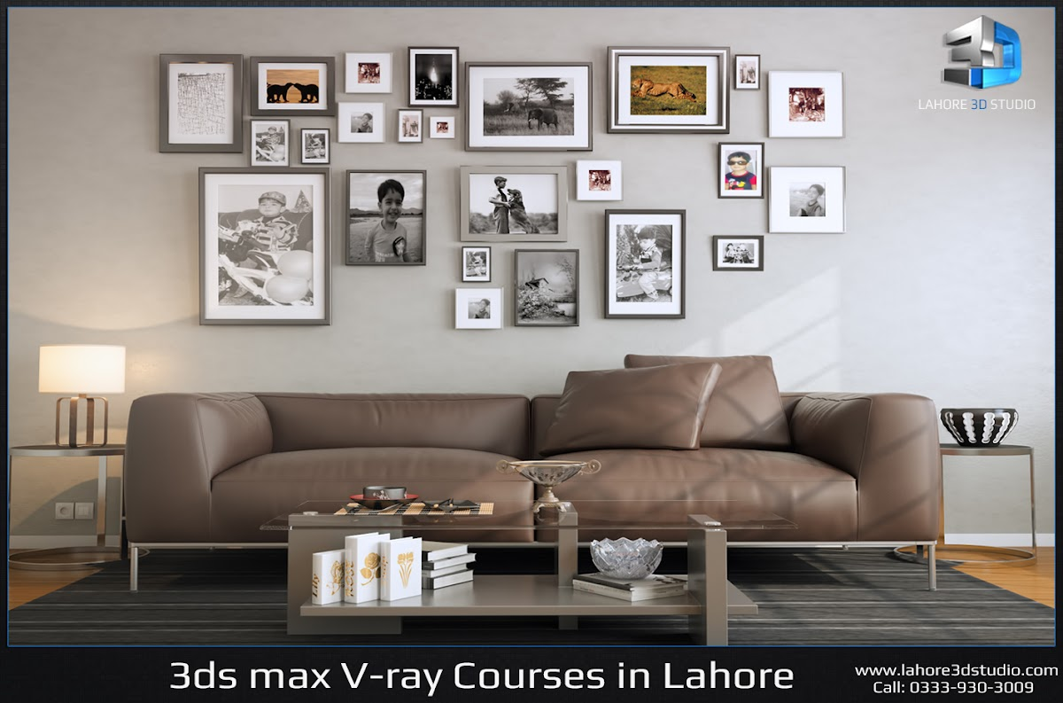 3ds max courses in lahore vray interior visualization for 3ds max course