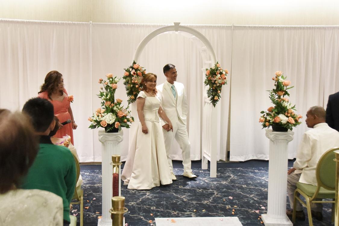Pacific Beach Hotel Wedding