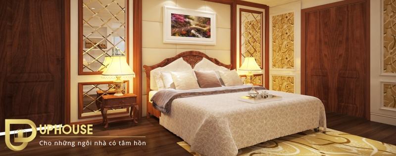 Nội thất phòng ngủ tân cổ điển 06