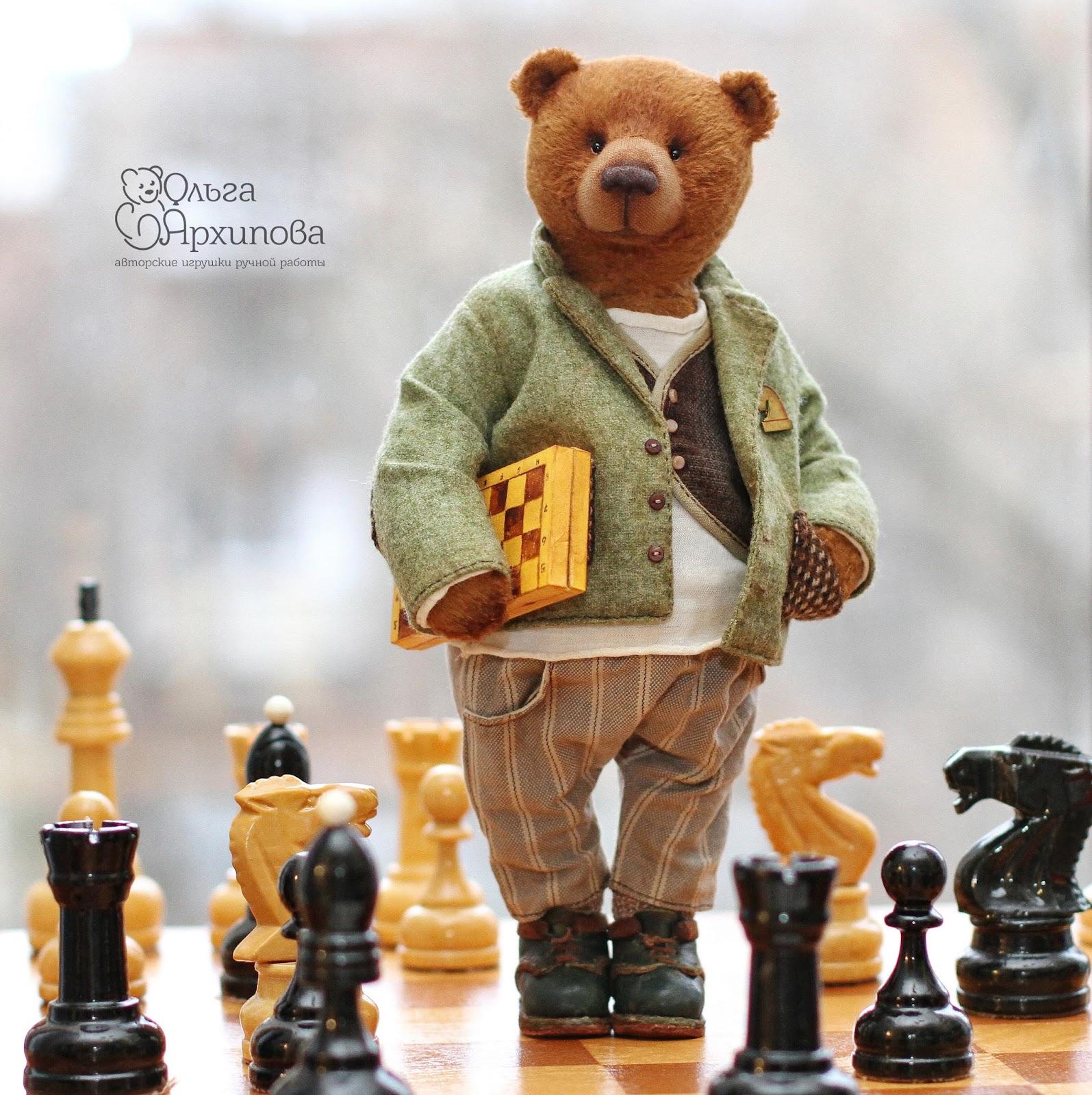 Авторские мишки Тедди ручной работы Ольги Архиповой