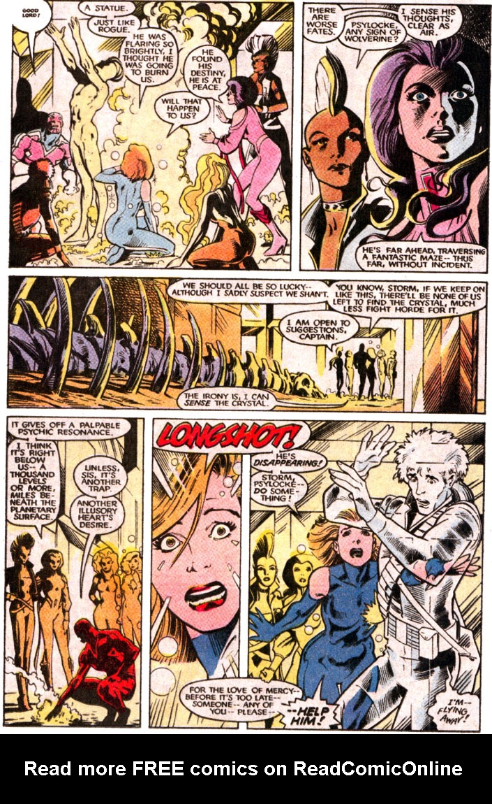 Uncanny X-Men (1963) issue _Annual_11 - Page 22