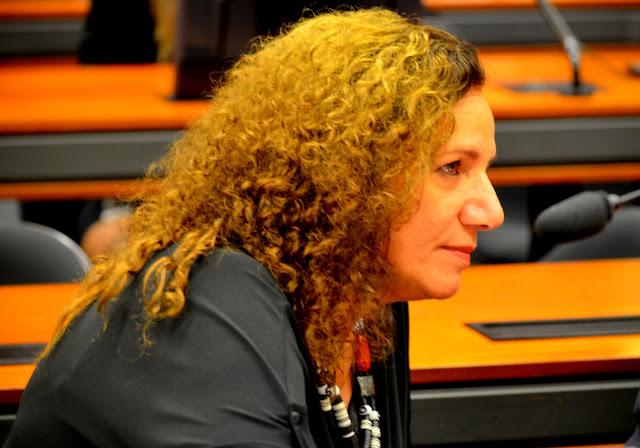 Deputada Jandira Feghali - PCdoB/RJ Foto Joaquim Dantas/Arquivo
